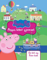 Peppa leker gjemsel...