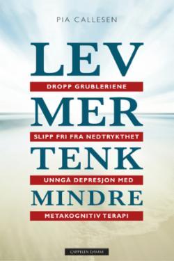 Lev mer tenk mindre : dropp grubleriene og slipp fri fra nedstemthet og depresjon med metakognitiv terapi