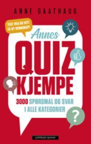 Annes quizkjempe :...