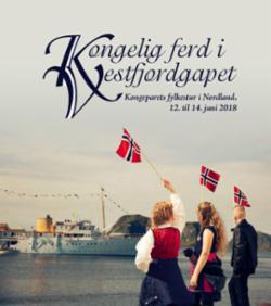 Kongelig ferd i Vestfjordgapet : kongeparets fylkestur i Nordland, 12. til 14. juni 2018