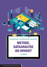 Metode, dataanalyse...