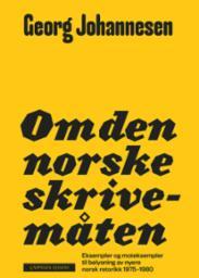 Om den norske skriv...