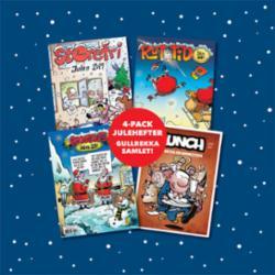 Julehefter 4-pack : Pondus, Lunch, Storefri, Rutetid
