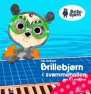 Brillebjørn i svømm...