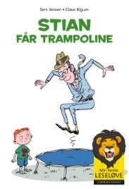 Stian får trampoline