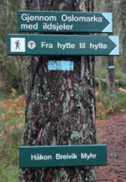 Gjennom Oslomarka m...