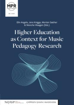 Higher education as context for music pedagogy research